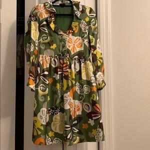 J.Crew 70's style dress